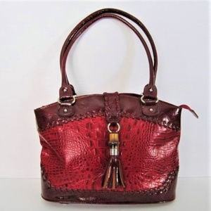 M.C. Handbag Reptile Pattern